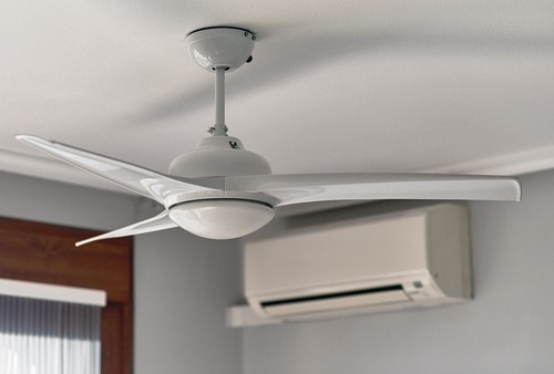Aircon and fan in home